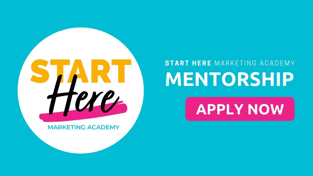 START HERE Marketing Academy (SMA)